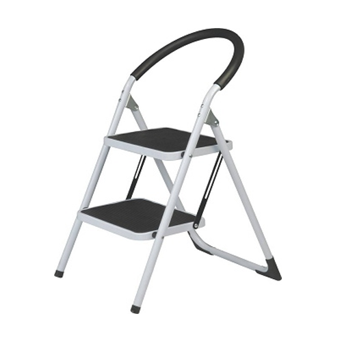2 STEP LADDER HEAVY DUTY WITH LOWER HANDAIL FOAM COATED
