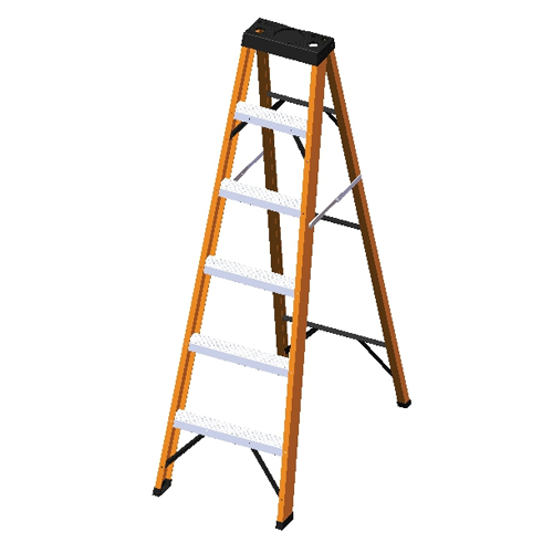 FIBERGLASS SINGLE SIDED STEP LADDERS