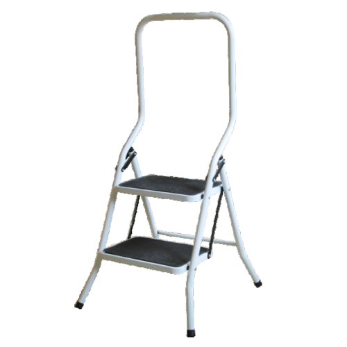 LARGE STEP LADDER HEAVY DUTY WITH HIGH HANDRAIL