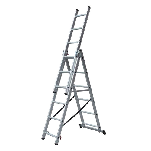 MULTIFUNCTIONAL ALUMINIUM LADDER