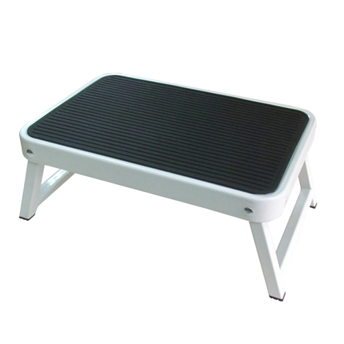 ONE STEP STOOL WITH FOLDABLE LEGS