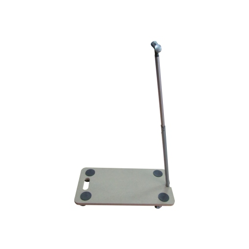 WOODEN PLATFORM WITH TELESCOPIC HANDLE
