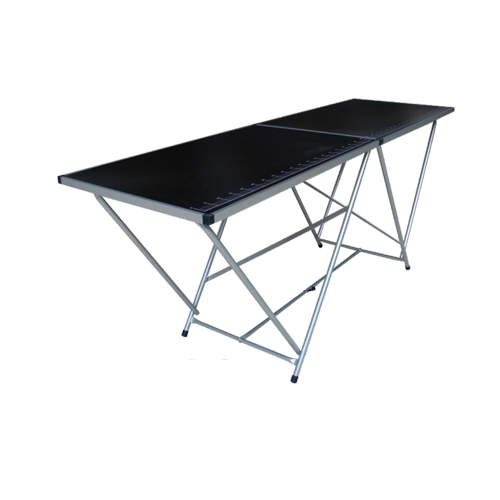 STEEL WALL PAPER TABLE 2M